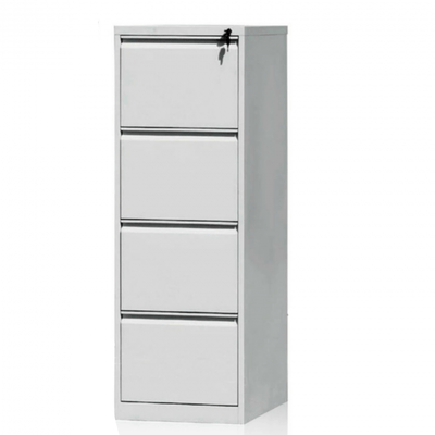 4 - Drawer metal office filing cabinet