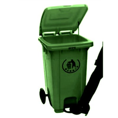 Foot Pedal Wheelie Refuse Waste Dust Bin