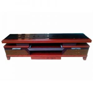 Omaha Centrally Supported Glass Top Plasma TV Stand