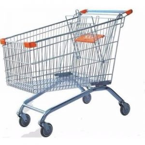 supermarket shopping trolley cart