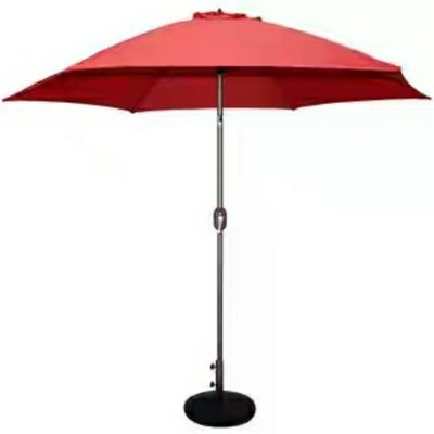 marfton outdoor garden parasol centre pole umbrella. Black Bedroom Furniture Sets. Home Design Ideas