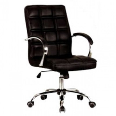 Emel Embrace Quilted Leather Swivel Office Chair - XY3004