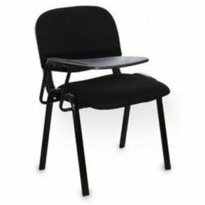 Emel Slim Tablet Training Fabric Office Chair