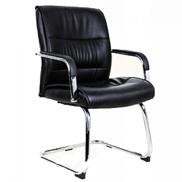 Emel Executive Leather Visitor Conference Office Chair