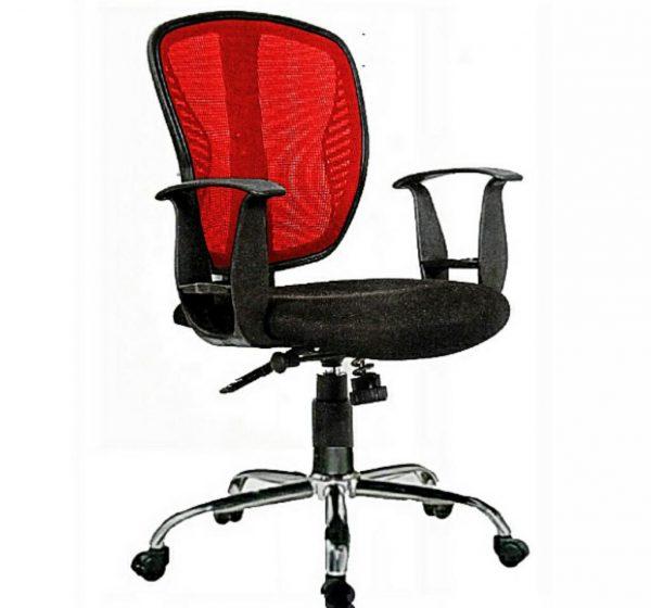 Emel Brushed (SB)  Ergonomic Mesh and Fabric Swivel Office Chair
