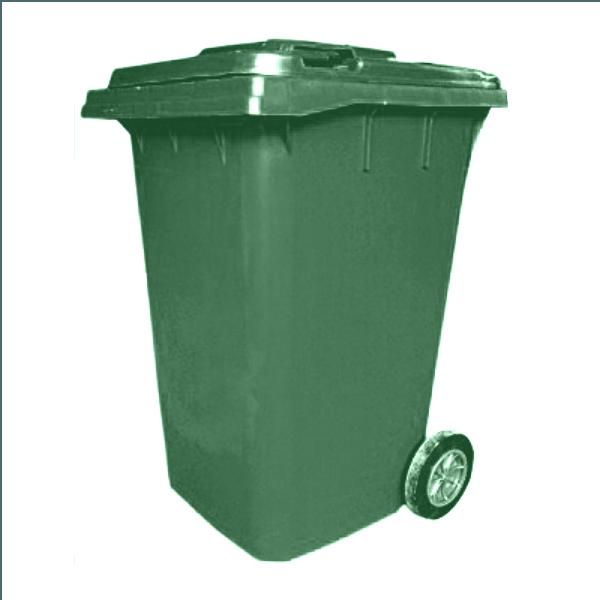360 Litre Waste Bin Made Of Plastic Wheelie Alfim