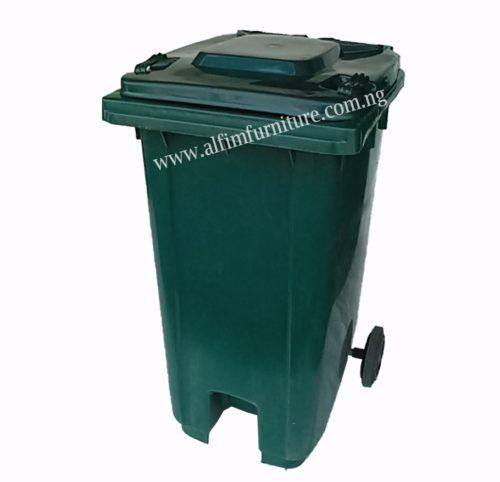 virgin plastic refuse dust bin