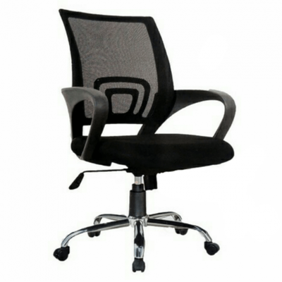 Ergonomic Swivel Mesh Steel Base Office Chair