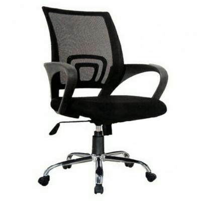 Ergonomic Swivel Mesh Steel Base Office Chair