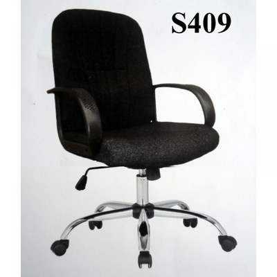 Regular Back Staff Swivel Fabric Office Chair