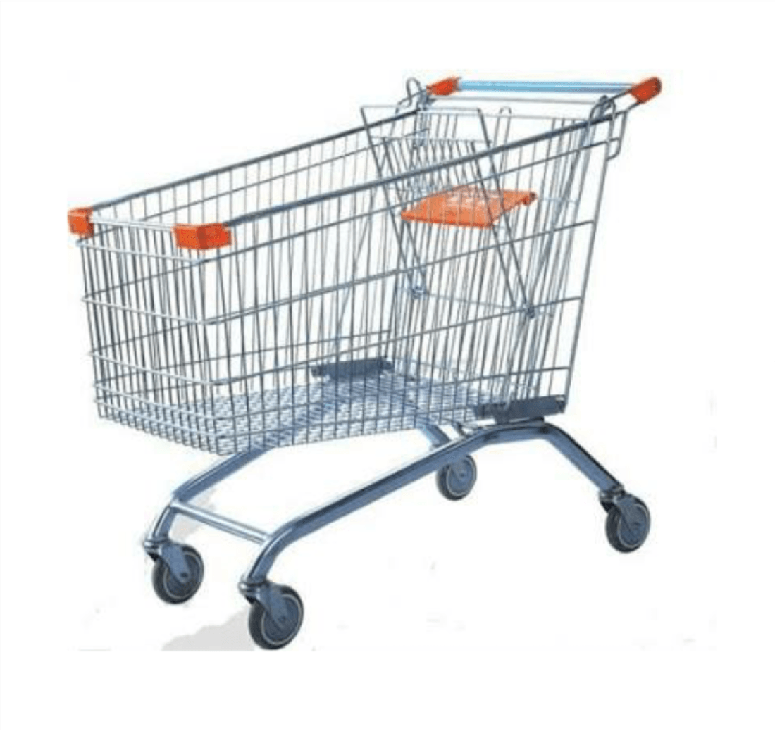 Supermarket Grocery Shopping Cart Trolley 60l Buy Top