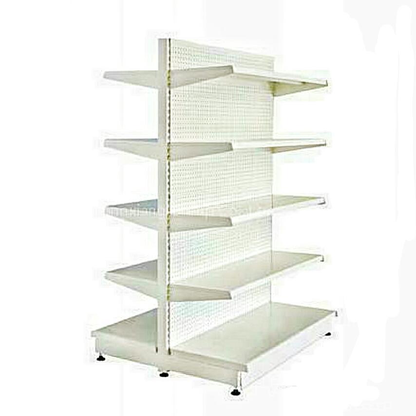 Supermarket Double Sided Shelf Quality Gondola Shelves