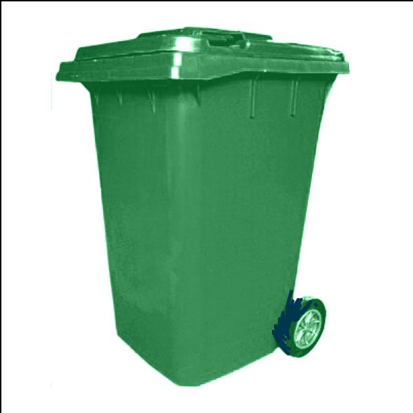 360  Litre Plastic Wheelie Waste Bin