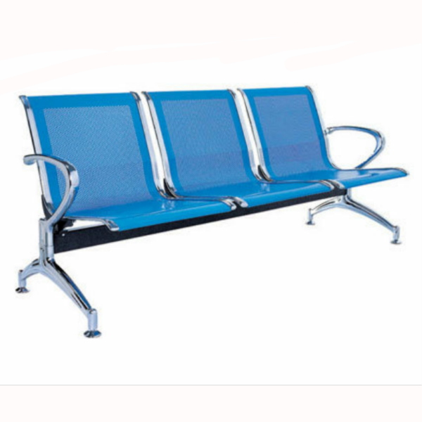 3-seater airport reception waiting office chair