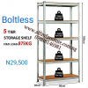Alfim furniture Nigeria Boltless steel shelving rack _3