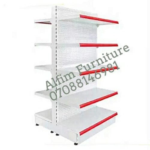 supermarket double sided shelf double sided supermarket shelves