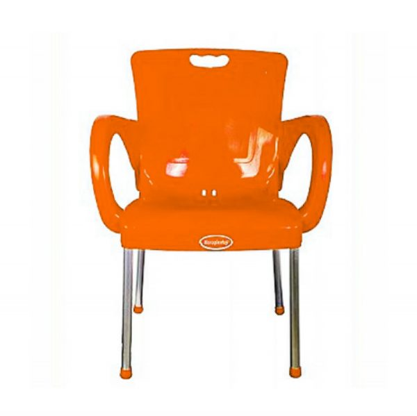 Paula plastic restaurant chair with armrests
