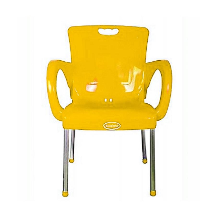 Paula Plastic Restaurant Chair With Armrests Alfim