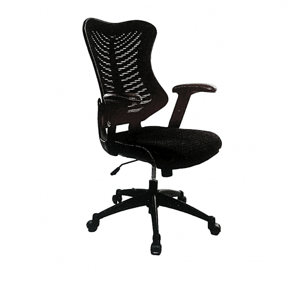 Waveair Executive Mesh And  Fabric Swivel Office Chair