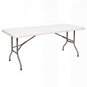 folding plastic banquet table