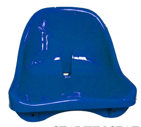 Pavilion plastic medium back stadium seat