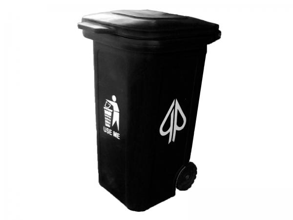 240 Litre GeePee plastic wheelie waste bin