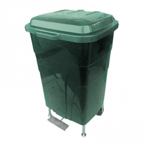 20 Litre Stainless Steel Foot Pedal Waste bin