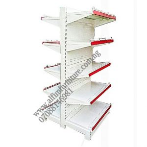 Gondola supermarket Supermarket shelves metal rack
