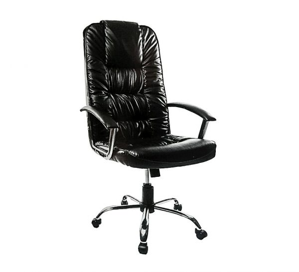Bossy Executive Management Leather Swivel Office Chair