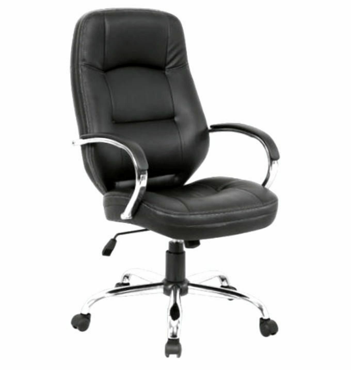 Ambassador High Back Leather Swivel Revolving Office Chair