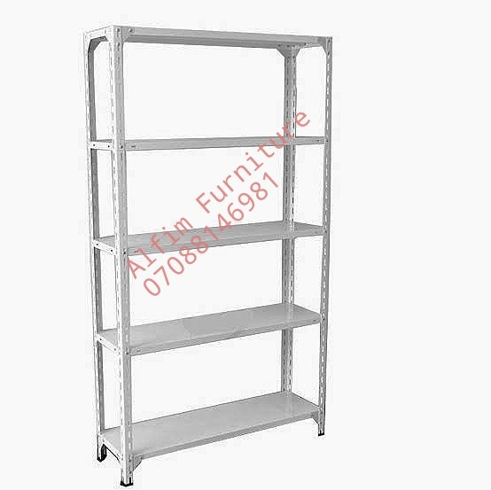 Alfim Nigeria bolted Steel shelving rack