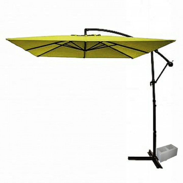 garden cantilever umbrella parasol big umbrella canopy
