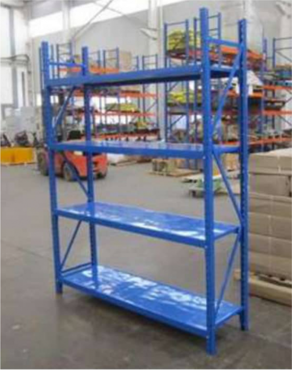 Glendora Butterfly Hole Warehouse Storage Shelving rack