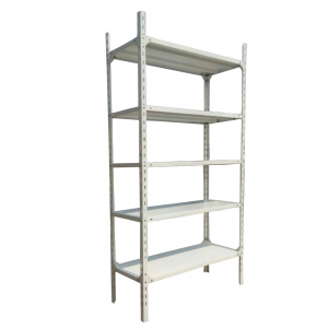 3 Bay Heavy duty Supermarket Wall Shelves