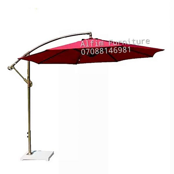 outdoor hanging umbrella parasol