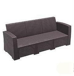 Laguno 3-Seater Woven Rattan Sofa Chair