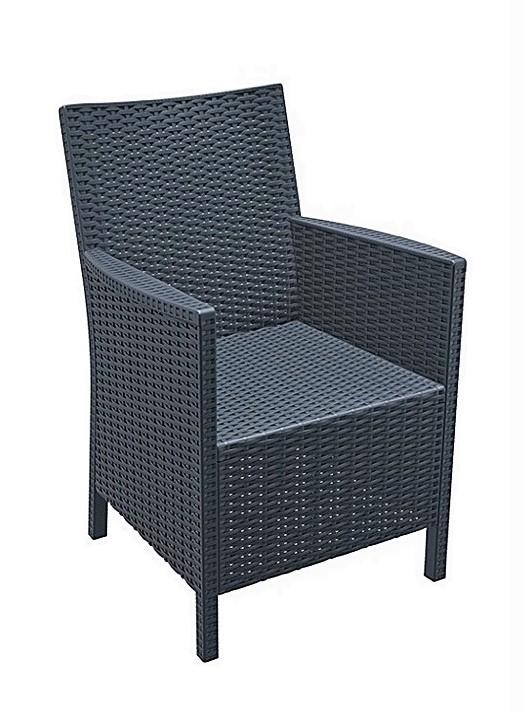 Santorini Rattan Design Armrest Chair