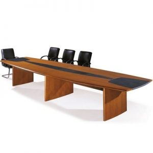 10-seater Oval Shaped Conference Office Table