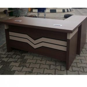 2.0 Metre Executive L-shaped Office Table with Extension and Mobile drawers