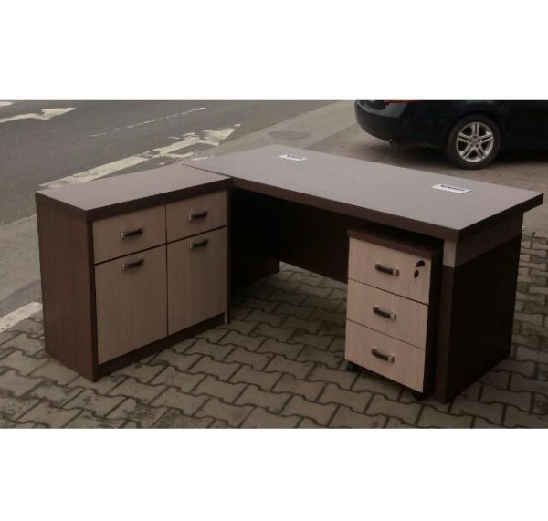 1.6 metre Deluxe Executive Director L-shaped Office Table