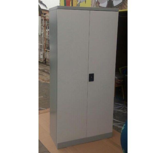 Deluxe Full Height Metal Steel Cupboard Cabinet