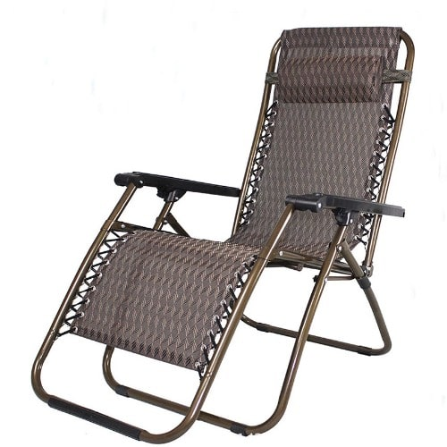 Deluxe  Foldable Adjustable Outdoor Relaxing Chair