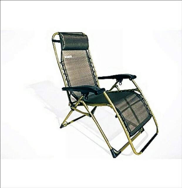 Executive Foldable Adjustable Outdoor Relaxing Chair