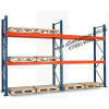 ALFIM Ltd 2 Bay warehouse storage pallet racking system