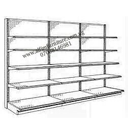 ALFIM NIGERIA Limited 3 bay supermarket wall shelves