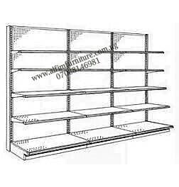 heavy duty supermarket wall shelves
