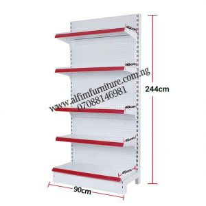 Maximum Height Heavy Duty Supermarket Wall Shelves