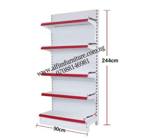ALFIM NIGERIA Ltd Supermarket wall shelves maximum height