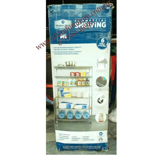 Heavy Duty Wire Shelving Rack Unit