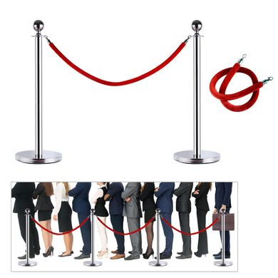 Crowd control Stanchion Velvet Ropes